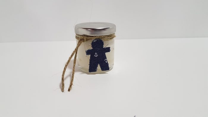 Γλυκό βαζάκι (40 ml)υποβρύχιο με αγοράκι. .